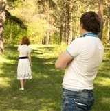 https://www.dreamstime.com/royalty-free-stock-image-divorce-couple-problems-conflict-separation-concept-unhappy-women-wife-going-away-men-husband-outdoor-summer-park-image32070646