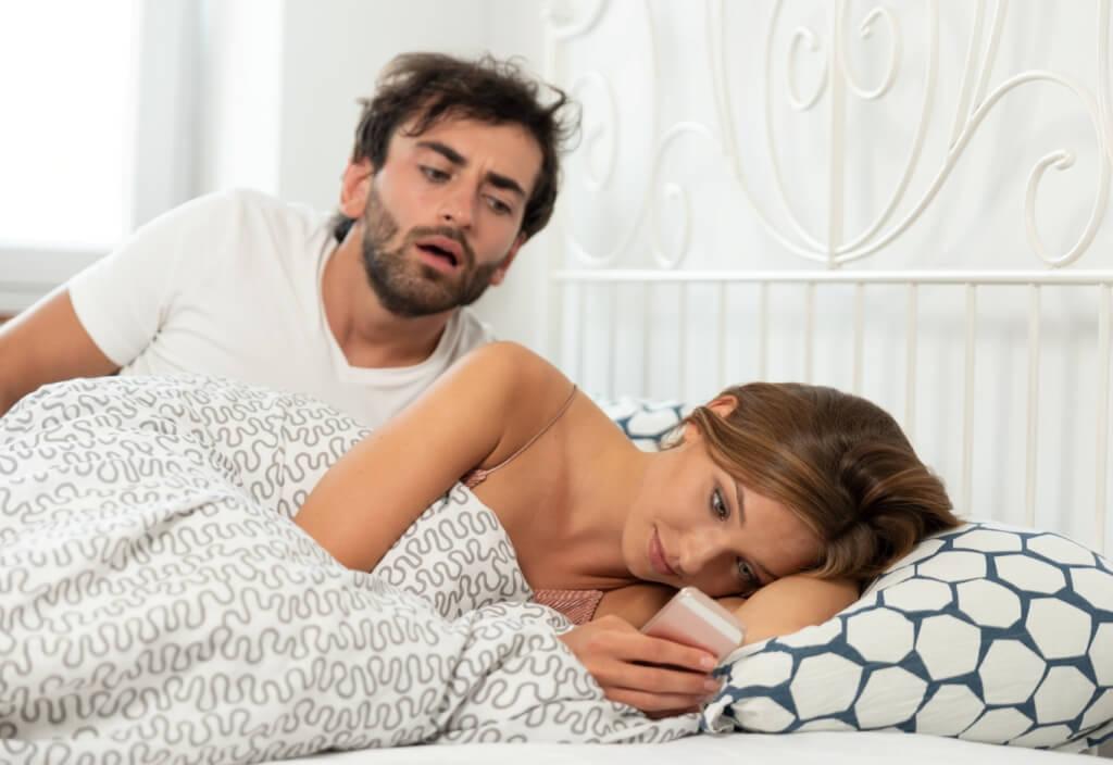 Relationship, betrayal and jealousy