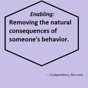 Are You an Enabler and What You Can Do?