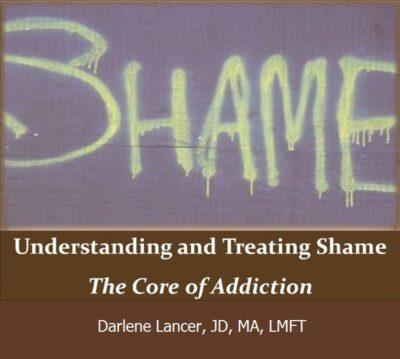 Webinar on treating shame