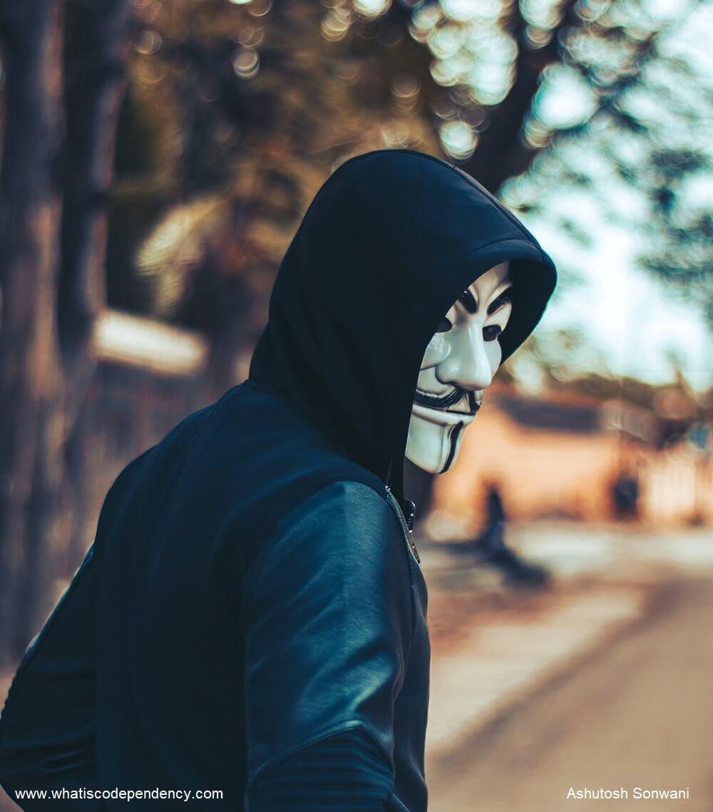 covert manipulator, mask