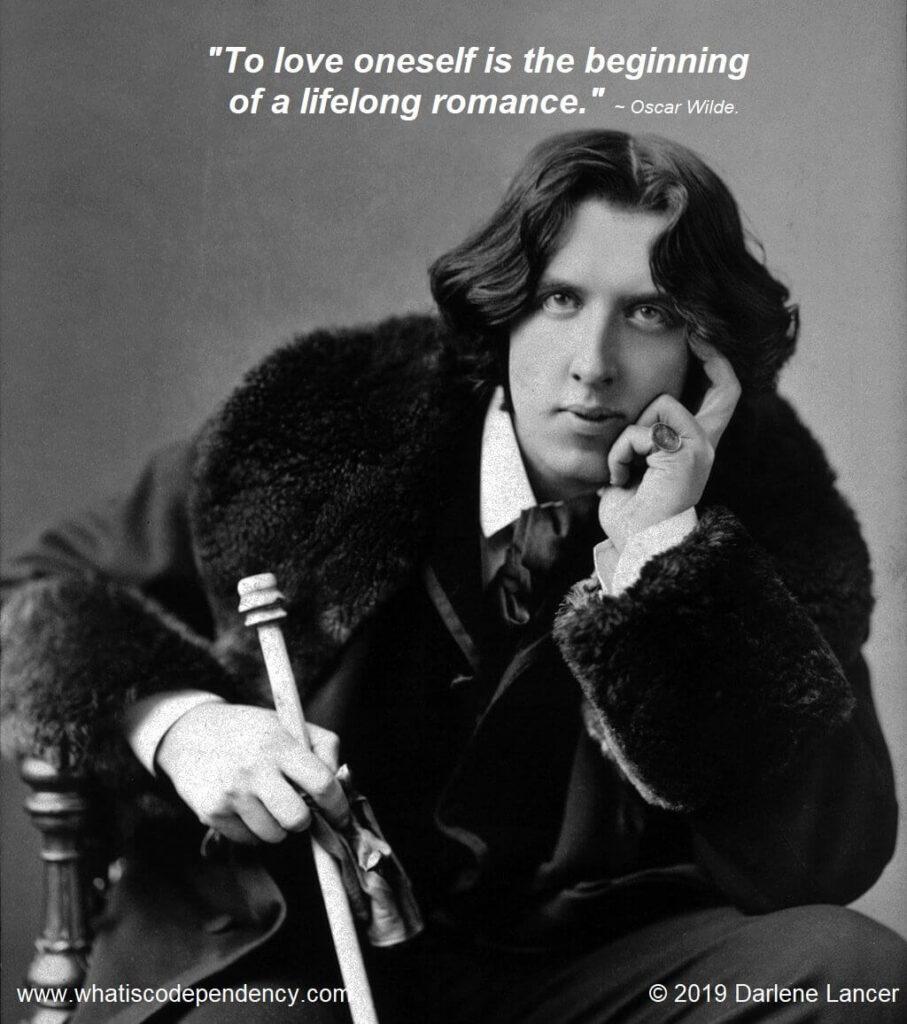 Oscar Wilde, Self-love