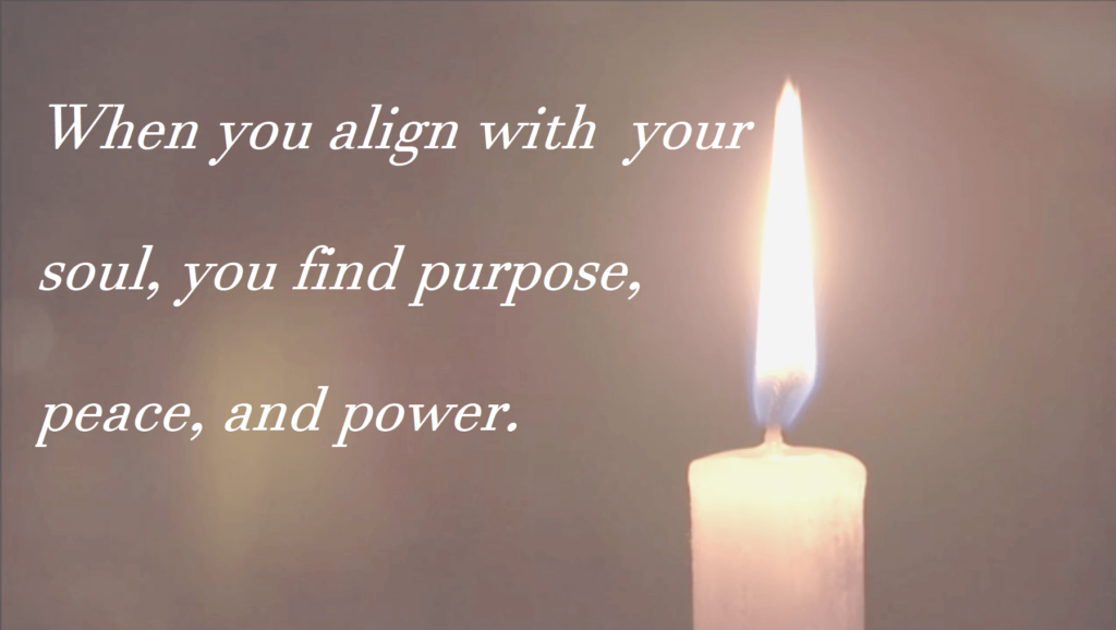 candle, soul alignment