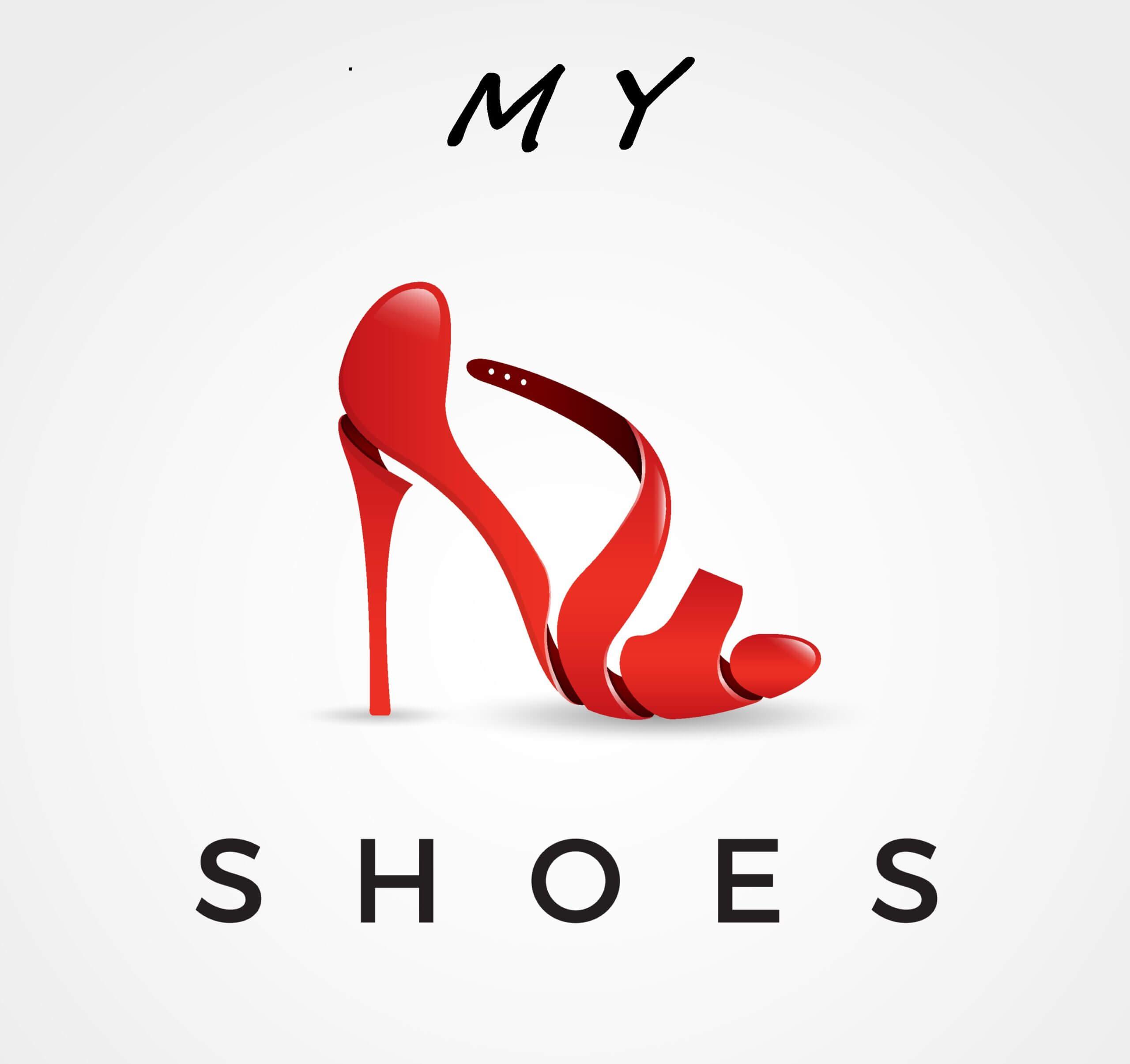 red high-heel sandals