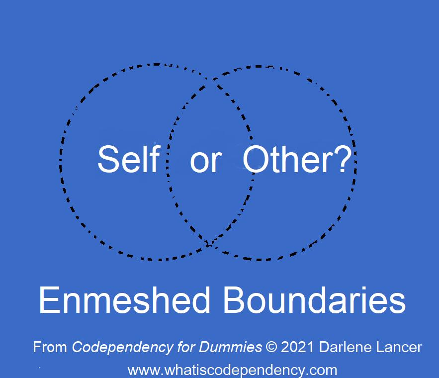 enmeshed boundaries diagram