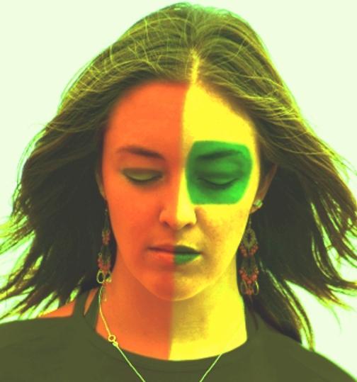 splitting, divided face